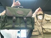 """ORVIS """"One of a kind"""" VEST AND BAG"""